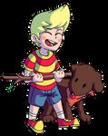 Lucas and Boney!! by Dustiletto29