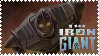 Iron Giant Stamp by Toonfreak