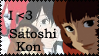 Satoshi Kon Stamp by Toonfreak