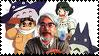 Hayao Miyazaki Stamp by Toonfreak