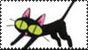 Kuroneko Stamp by Toonfreak