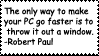 Computer Quote Stamp by Toonfreak