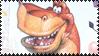 We're Back Stamp by Toonfreak