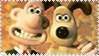 Wallace and Gromit Stamp 2