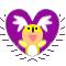 Fru Heart Stamp by Toonfreak