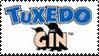 Tuxedo Gin Stamp by Toonfreak
