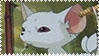 Yobi The Five Tailed Fox Stamp by Toonfreak