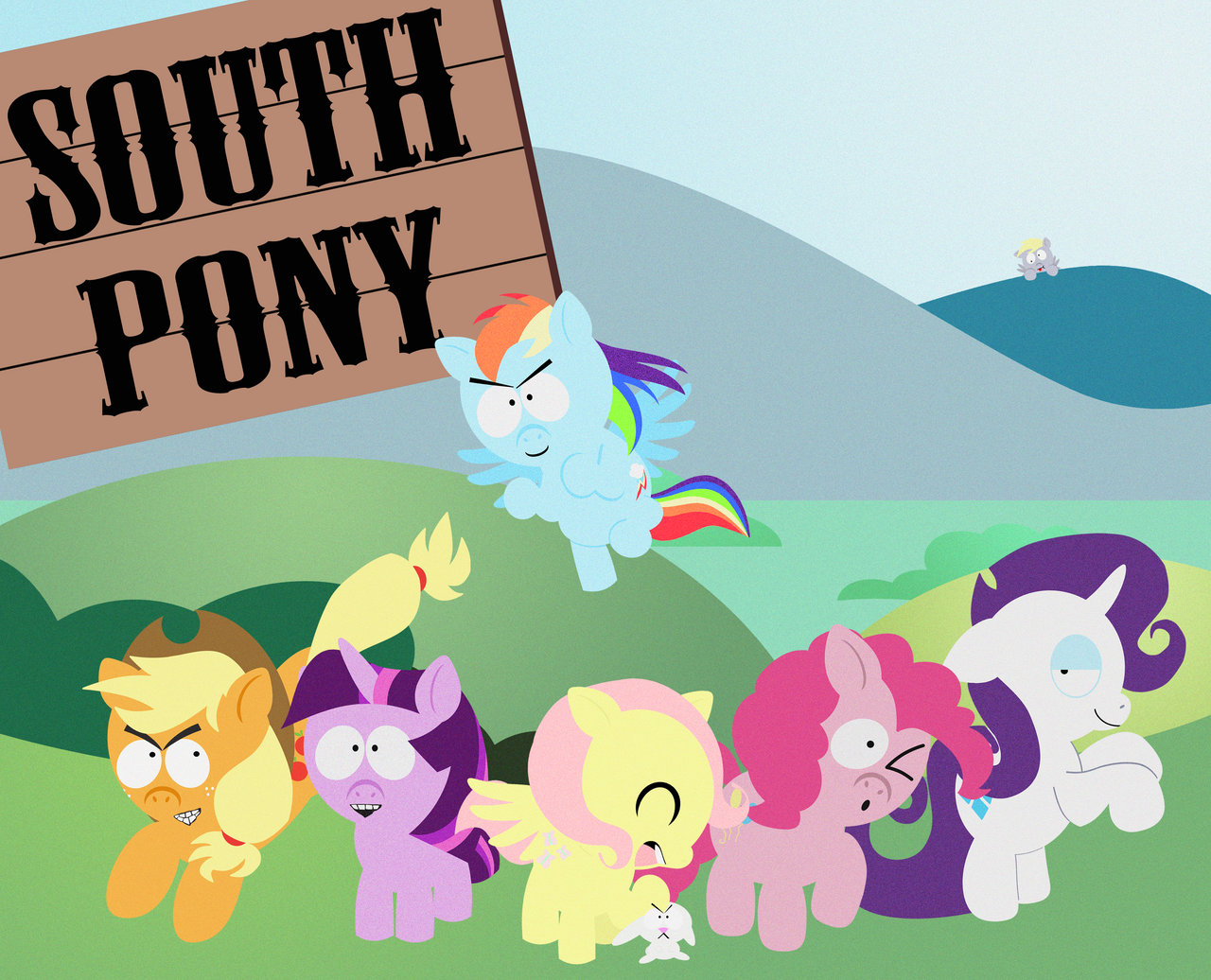 South Pony by Toonfreak