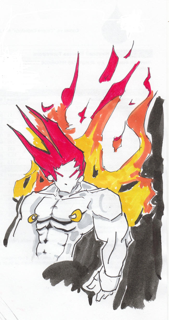 Flamer OC sketch by andy-billy