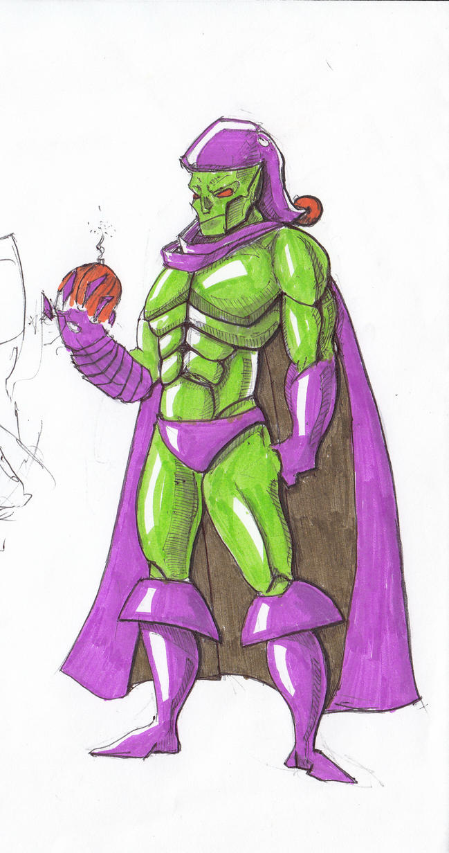 Green Goblin by andy-billy
