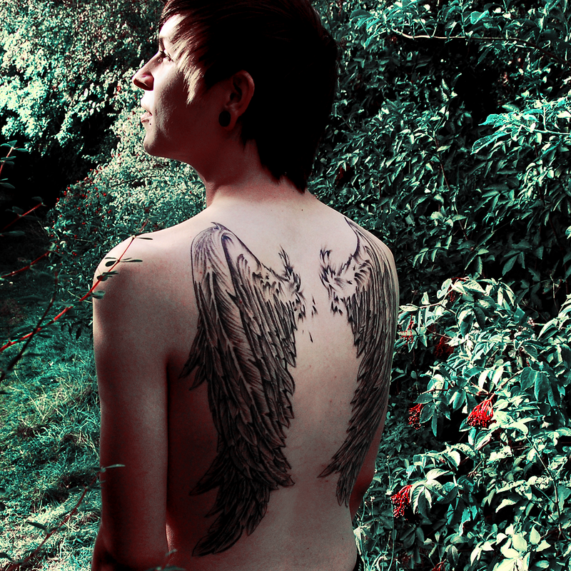 Open the Sky : Wings Tattoo