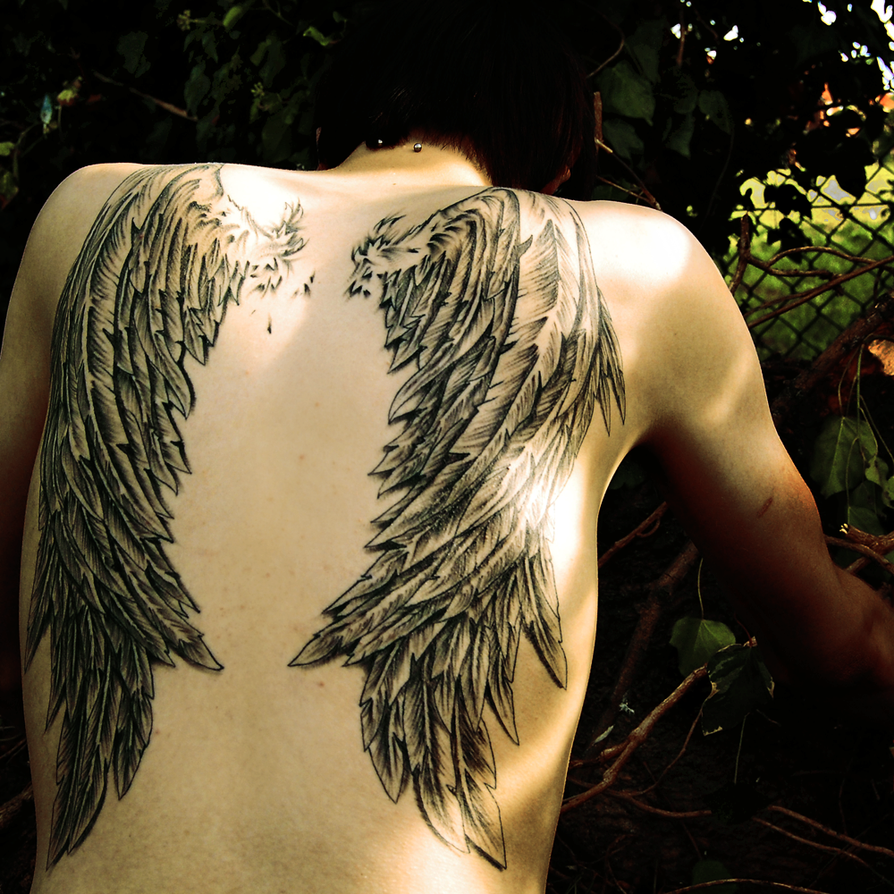Learn to fly : Wings Tattoo