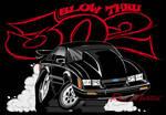 Blow Thru 302 Mustang