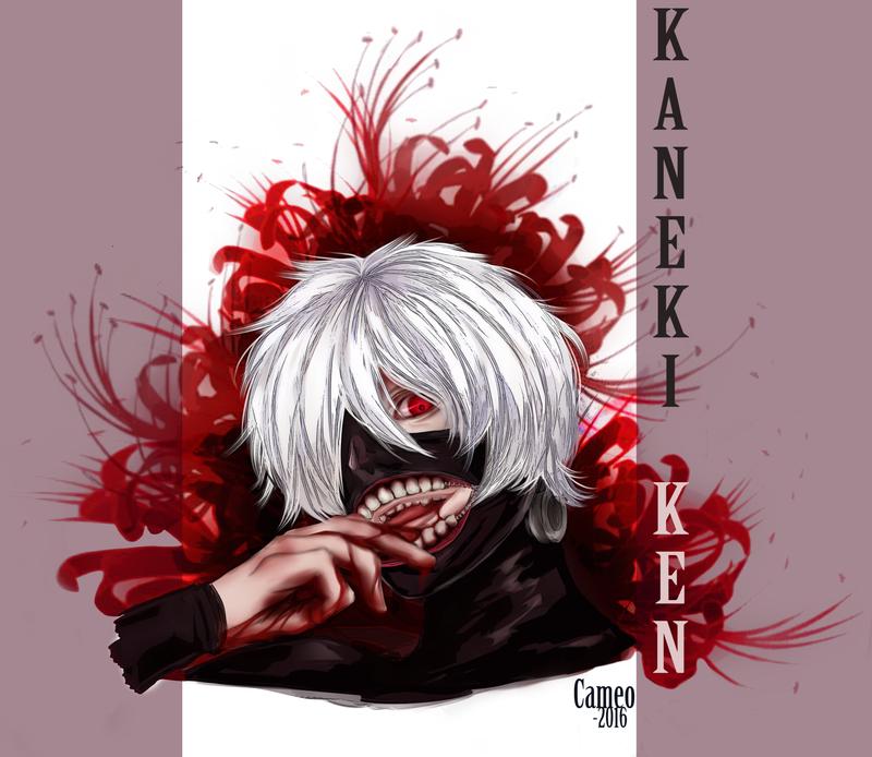 Kaneki Fanart by CameoStoique