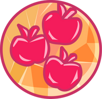 EG Applejack pendant vector by TheSpectral-Wolf