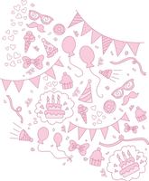 EqG Pinkie Pie Pattern by TheSpectral-Wolf