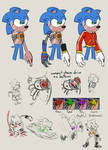 HeartlessAU!Sonic doods