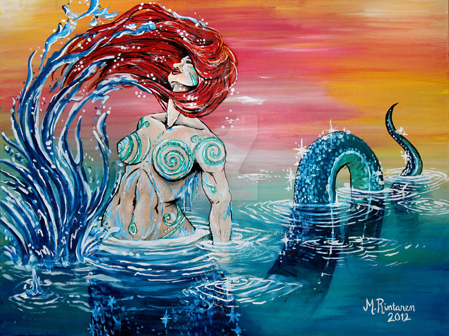 Water Maiden by maryi