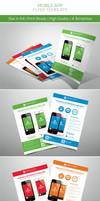 Promotion Mobile App Flyers Vol.1