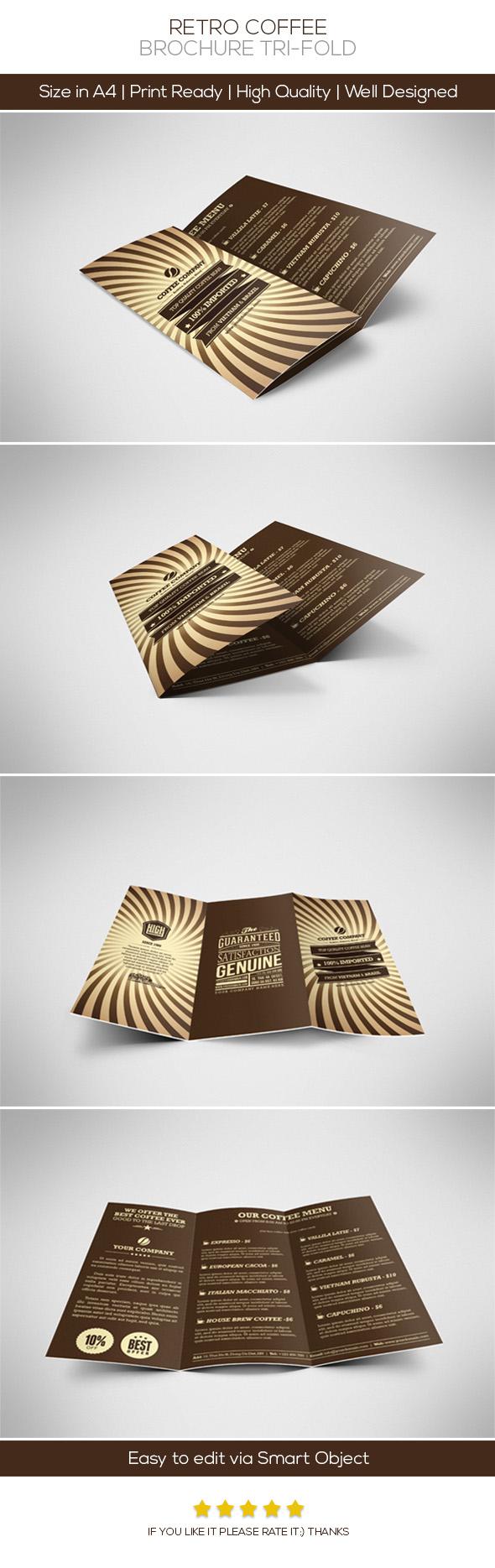 Retro Coffee Brochure