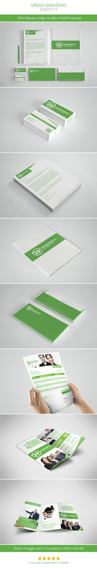 Green Branding Identity by hoanggiang12