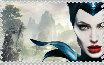 Maleficent Stamp by zonesdragoness