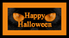 Happy Halloween Stamp I by Jenna-Rose