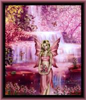 A Pink Spring by Jenna-Rose