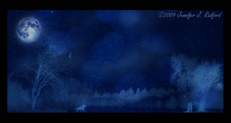 On a Blue Winter's Night