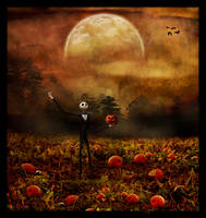 King of the Pumpkin Patch by Jenna-Rose