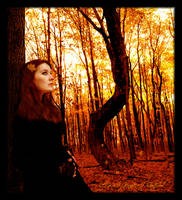 Lady of the Autumn Wood by Jenna-Rose