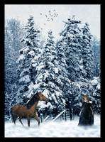 Out for a Winter's Walk by Jenna-Rose