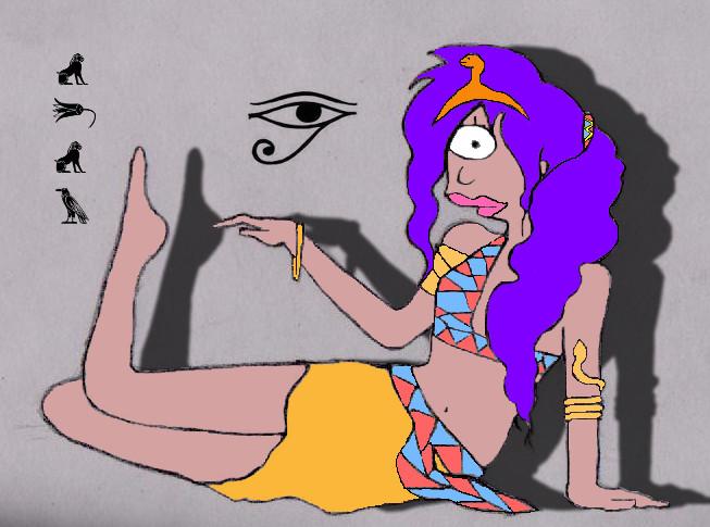 Futurama-Leela as Cleopatra by katyperrylove