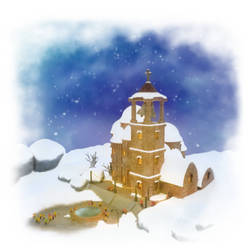 Christmas Poem Illustration by CosDim