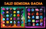 (SALE) gemsona gacha adopts by DarkLolipop88