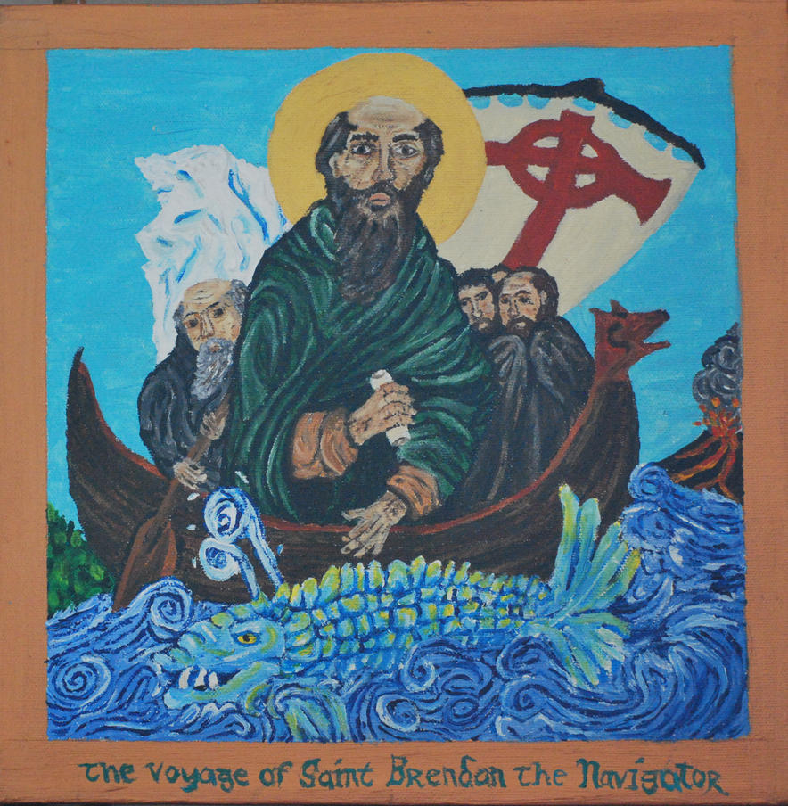 The Voyage of St. Brendan the Navigator by CodyVBurkett