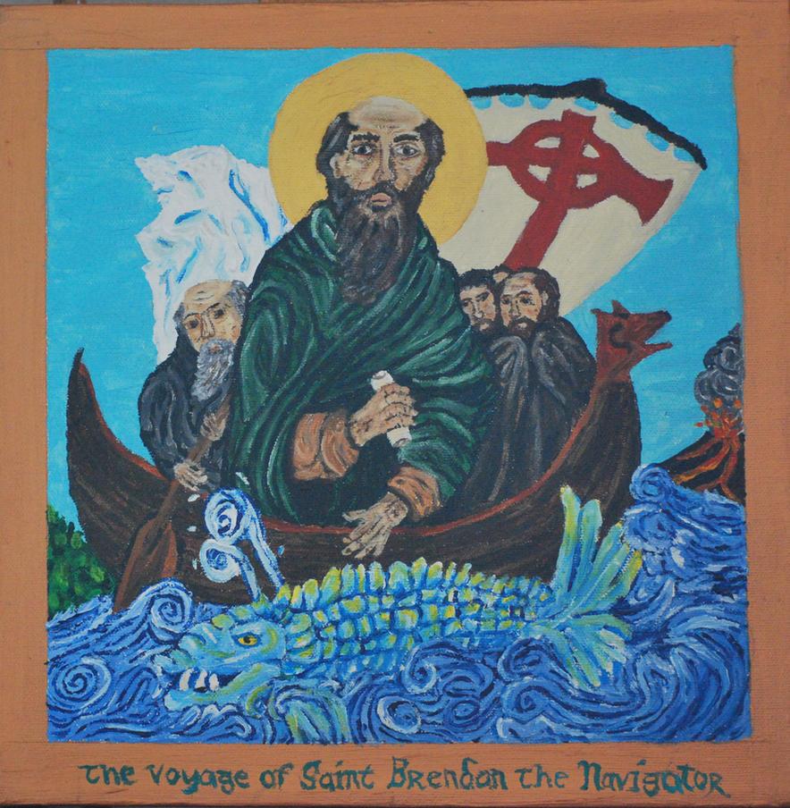 The Voyage of St. Brendan the Navigator by CodyVBurkett
