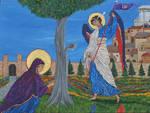 Revelation: St. Anna and the Archangel Gabriel