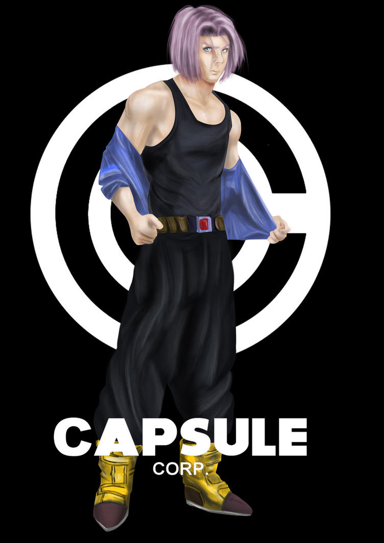 Trunks Capsule Corp By SuperRoger On DeviantArt