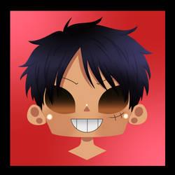 Chibi Luffy Without Hat