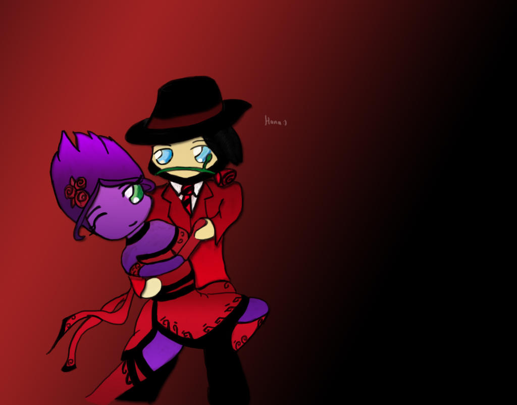 Tango Evelynn and Twisted Fate by MajesticPoro on DeviantArt
