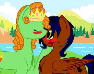 Princess Vida and Robyn by HisBestFantasyEverXD