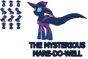 The Mysterious Mare-Do-Well (RPG Maker VX Sprite) by HisBestFantasyEverXD