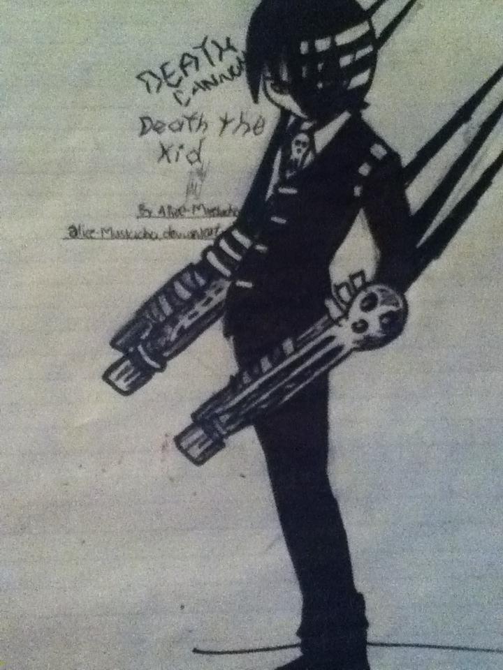 SE: Death Cannon by Alice-Mustacho