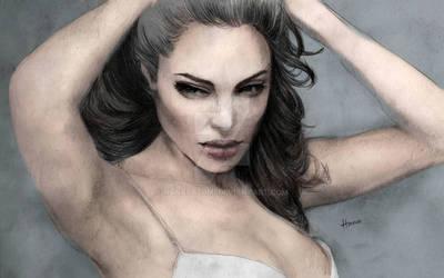 Angelina Jolie Sketch