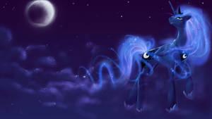 December draw-off: Luna Wallpaper
