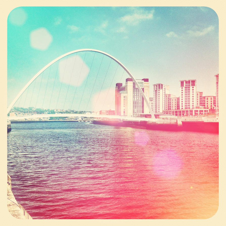 Summer on the Tyne - Instagram by Nitr0glycerin