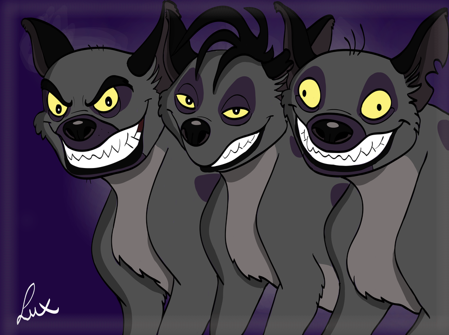 Hyena Trio by LuxBlack