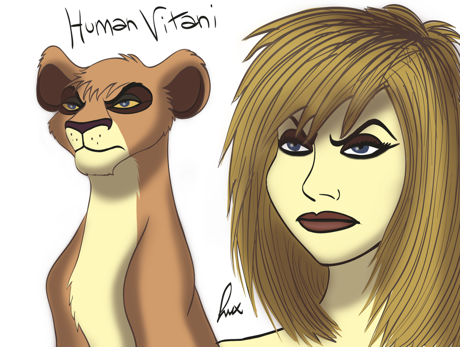 Kovu And Kiara Human Form