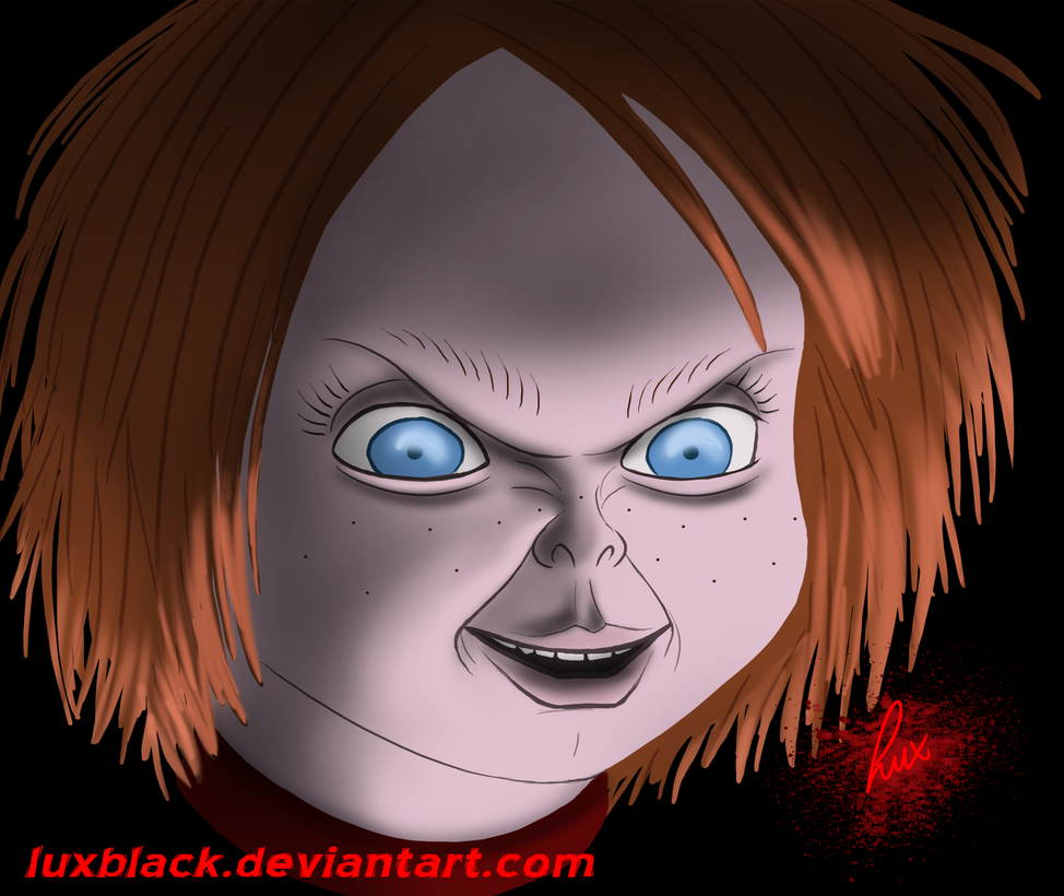 Chucky Wallpapers: Chucky Speedpaint By LuxBlack On DeviantArt